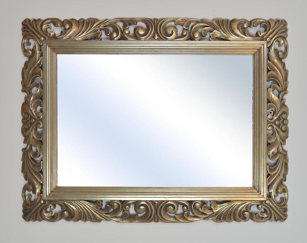 John Lewis Ornate Leaf Wall Mirror 122cm x 91cm Champagne - NEW ...